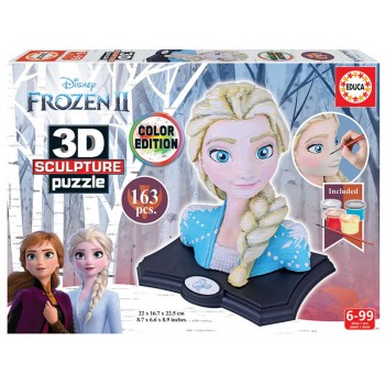 Educa Παζλ 3D Sculpture Puzzle 163Τεμ. 18374 Disney:Frozen 2