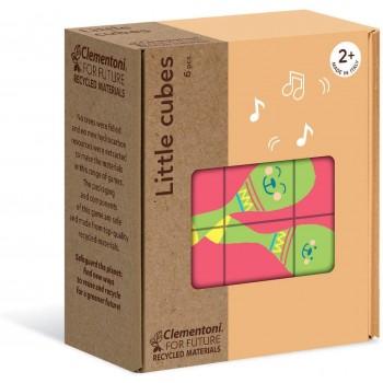 Clementoni 16229 παζλ 6τεμ. My Puzzle - Οικολογικά Κυβάκια - Αντικείμενα