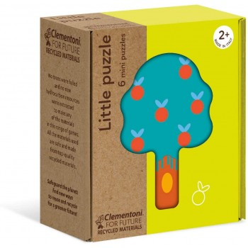 Clementoni 16223 παζλ 6τεμ. My Puzzle - Οικολογικά - Φύση - (Περιλαμβάνει 6 Διαφορετικά σχέδια)