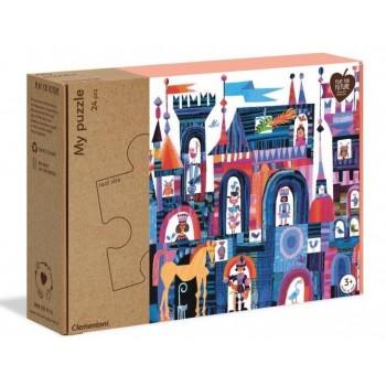 Clementoni 16218 παζλ 24τεμ. XL My Puzzle - Οικολογικά - Το Κάστρο