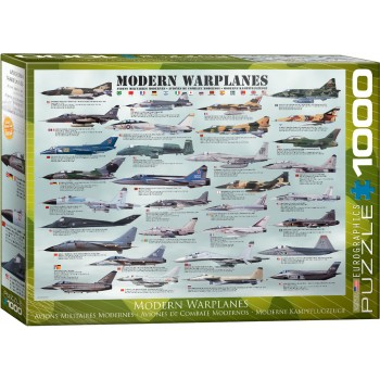 Eurographics Πάζλ 1000τεμ. 6000-0076 Modern Warplanes
