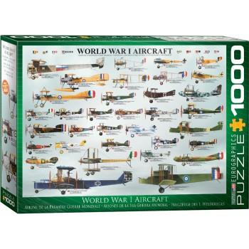 Eurographics Πάζλ 1000τεμ. 6000-0087 World War I Aircraft