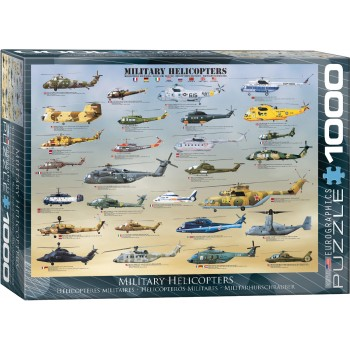 Eurographics Πάζλ 1000τεμ. 6000-0088 Military Helicopters