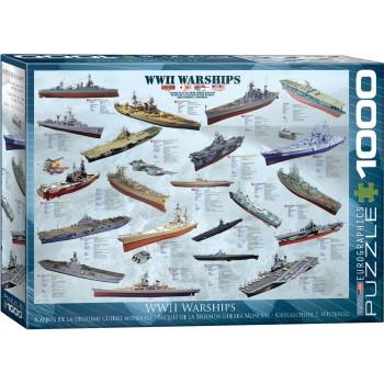 Eurographics Πάζλ 1000τεμ. 6000-0133 WWII War Ships