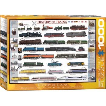Eurographics Πάζλ 1000τεμ. 6000-0251 History of Trains