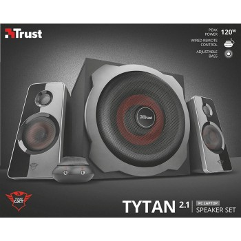 Trust (19023) Gxt 38 Tytan 2.1 Ultimate Bass Speaker Set