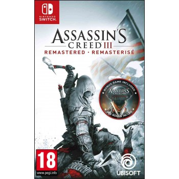 Nintendo Switch Assassin's Creed iii Remastered (Includes Assassin's Creed Liberation Remastered)