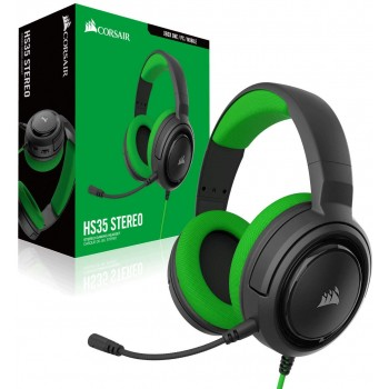 Corsair Stereo Gaming Headset HS35 Green CA-9011197-EU (Mobile,PS4,Xbox One,Switch)