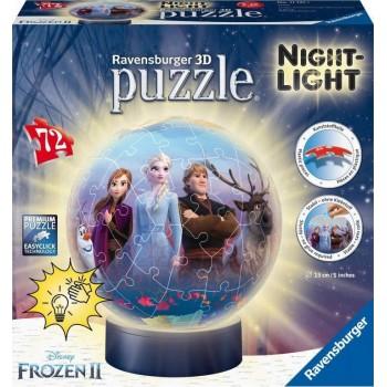 Ravensburger 11141 Πάζλ 3D Μπαλαλάμπα 72τεμ. Disney Frozen II