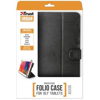 """Trust (21068) Aexxo Universal Folio Case 10.1"""" Black"""