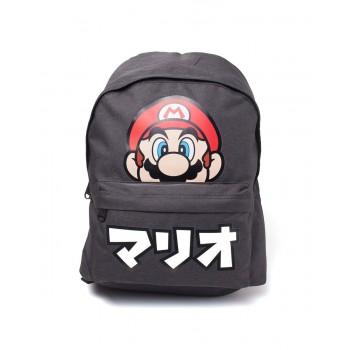 Difuzed Nintendo Backpack Super Mario Japanese Text Bp735360ntn
