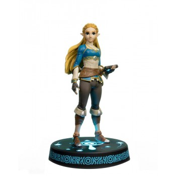 First 4 Figures the Legend of Zelda Breath of the Wild pvc Statue Zelda Collector's Edition 25 cm F4fbotwzc