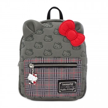 Loungefly Hello Kitty by Loungefly Backpack Grey Kitty lf-Sanbk0358