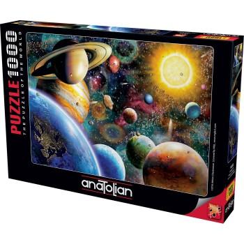 Anatolian παζλ 1000τεμ. - Οι πλανήτες του διαστήματος 1033 από τον Adrian Chesterman