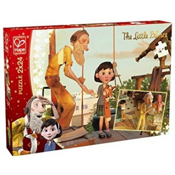 Hape παζλ 2x24τεμ. 824702 Premium Meet the Little Prince