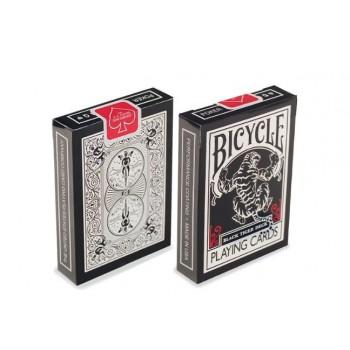 Τράπουλα BICYCLE Official Πλαστικοποιημένη  - Made USA - 23907 Black Tiger Red by Ellusionist