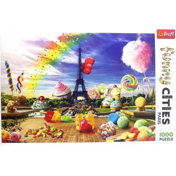Trefl Πάζλ 1000τεμ. 10597 Cupkakes στο Παρίσι