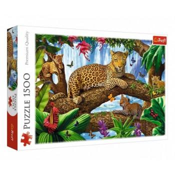 Trefl Πάζλ 1500τεμ. 26160 Οικογένεια των τίγρεις
