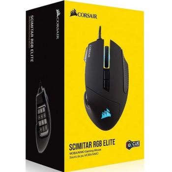 Corsair Scimitar RGB Elite MOBA/MMO Gaming Mouse CH-9304211-EU