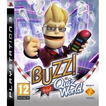 Μεταχειρισμένο PS3 BUZZ! Παγκόσμιο Κουίζ (Ελληνικό χώρις τα buzzers)
