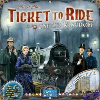 Επιτραπέζιο Ticket To Ride United Kingdom (Επέκταση Στα Αγγλικά) DOW720123
