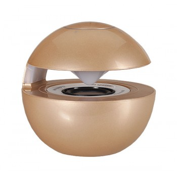Led Ball ηχείο με Bluetooth χρυσό