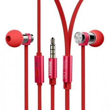 Remax Ακουστικά RM-565i κόκκινα