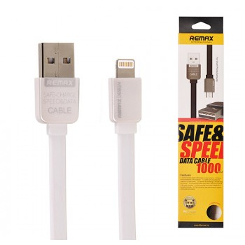 REMAX USB καλώδιο KingKong Lightning Iphone 5/6/7 λευκό