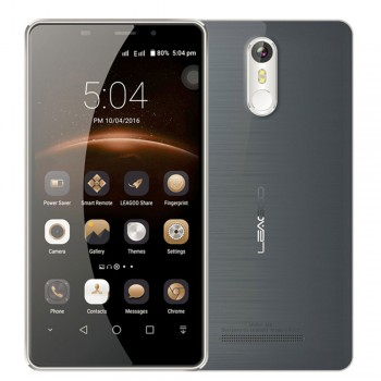 "Leagoo Smartphone M8, 3G, 5.7"" HD, Quad-Core, Γκρι"